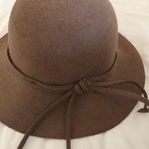Camel Brown Floppy Hat